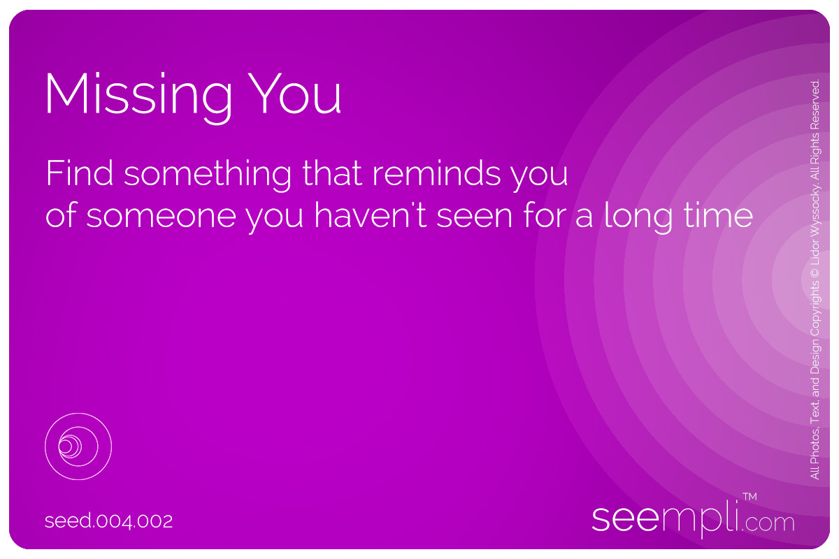 the Missing You seed